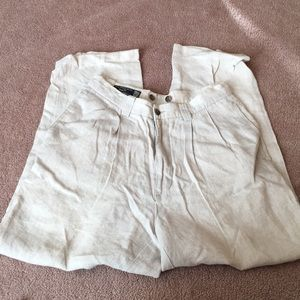 3/$20 Gap Easy Fit Linen Chino Pants Size 29